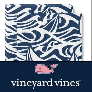 New! Sailboat Waves Lunch Napkins